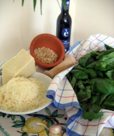 Pesto Genovese original italienisch ~ grün - Rezept - Bild Nr. 2