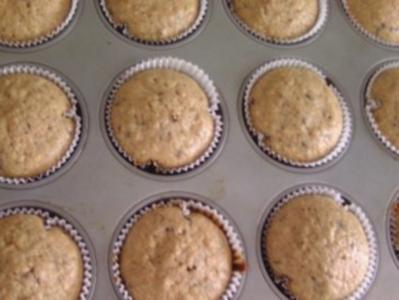Haferflocken-Schoko-Muffins - Rezept