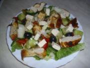 Salatteller - Rezept