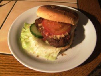 SNACK - Uta's Hamburger - Rezept
