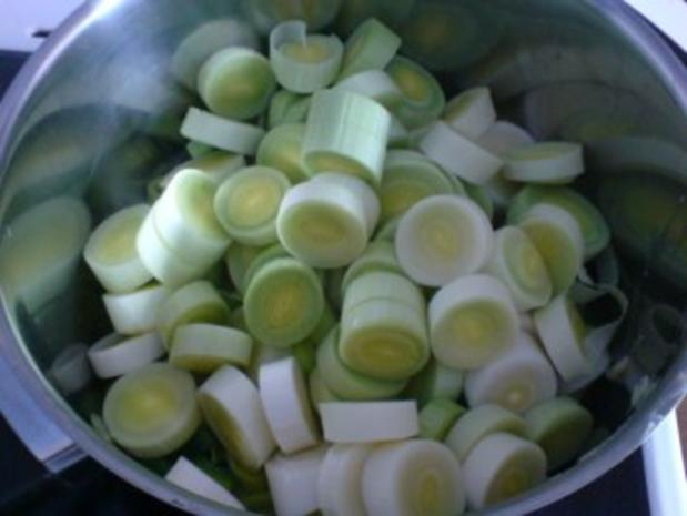 Porree-Gemüse zu Bratwurst - Rezept - Bild Nr. 6