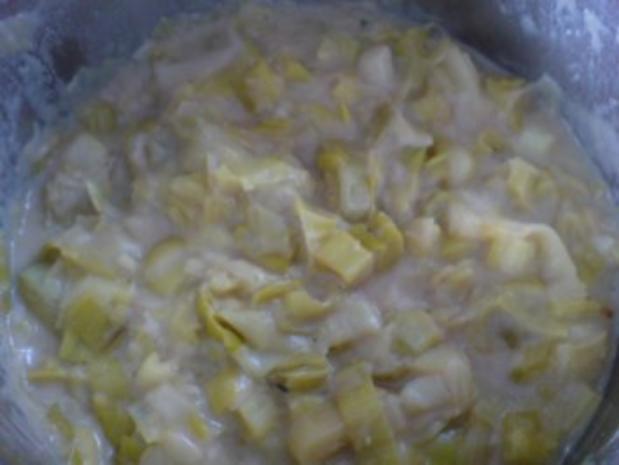 Porree-Gemüse zu Bratwurst - Rezept - Bild Nr. 21