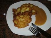 Kartoffel:   REIBEKUCHEN oder auch Kartoffelpuffer - Rezept