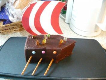 Wikinger- Schiff- Kuchen - Rezept