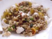 Reispfanne mit Hack - Rezept