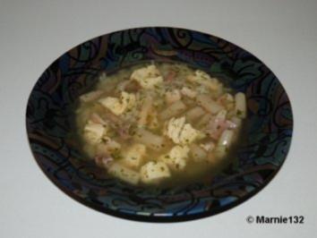 Rezept: Hühnersuppe mit Einlagen