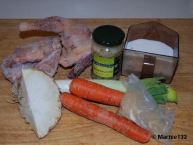 Hühnersuppe mit Einlagen - Rezept - Bild Nr. 2