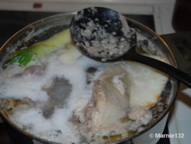 Hühnersuppe mit Einlagen - Rezept - Bild Nr. 4
