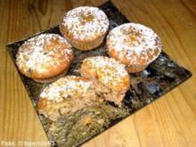 Weihnachtsmuffins mit Orangenbutter - Rezept