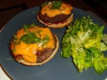 Resteverwertung- Cheeseburger - Rezept