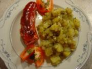 Warmer Kartoffelsalat ohne Fett, kalorienarm - Rezept