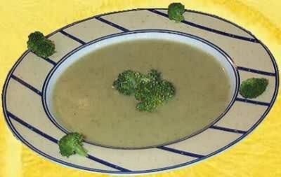 Broccolicremesuppe - Rezept