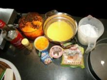 Karottenkuchen, Möhrenkuchen - Rezept