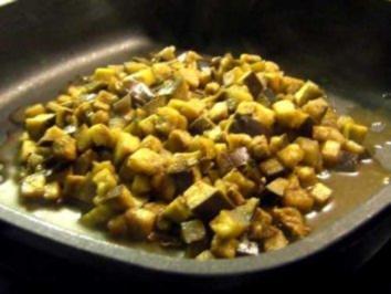 Auberginen-Gemüse - Rezept