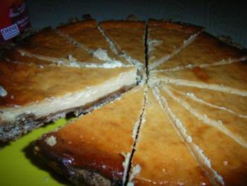Kuchen: Frischkäse-Pfefferkuchen-Tarte - Rezept