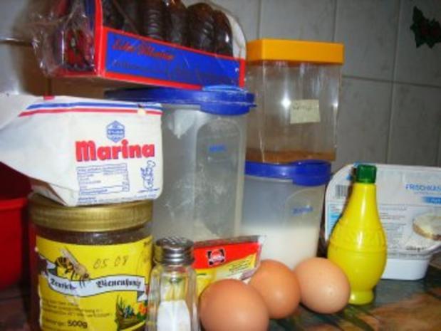 Kuchen: Frischkäse-Pfefferkuchen-Tarte - Rezept - Bild Nr. 2