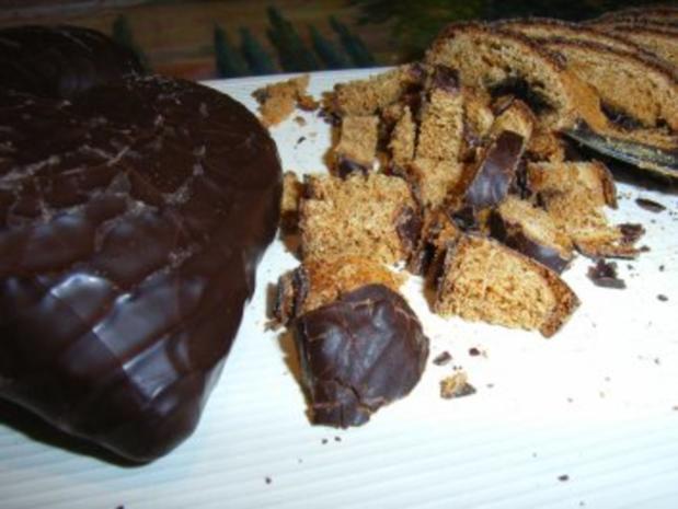 Kuchen: Frischkäse-Pfefferkuchen-Tarte - Rezept - Bild Nr. 3
