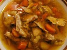 Hühnersuppe kräftig - etwas anders - Rezept