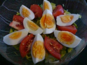 Rezept: Porree-Tomaten-Salat