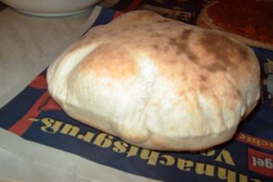 Rezept: Fladenbrot, libanesisch