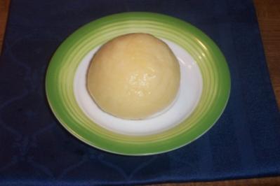 Knödel aus gekochten Kartoffeln - Rezept