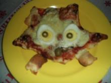 Igel-Pizza - Rezept