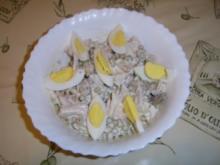 Geflügelsalat mit Zuckererbsen - Rezept