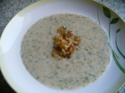Brotsuppe würzig - Rezept