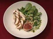 Feigen an Feldsalat (Milka) - Rezept