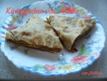 Kuchen: Mirellas Kürbiskuchen geschichtet - Rezept