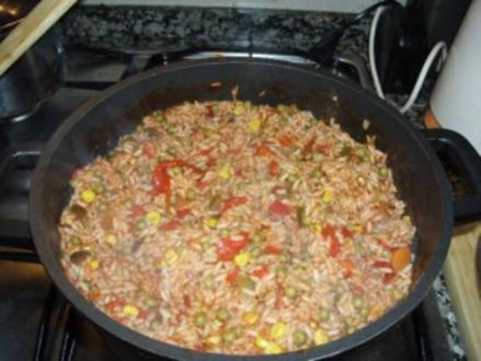 Mediterraner Reis - Rezept