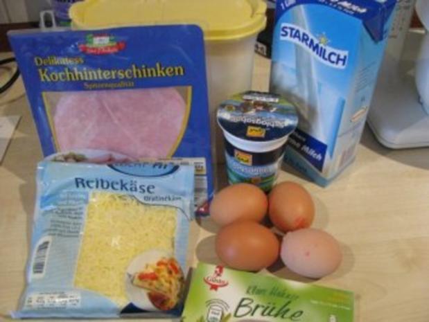 Schinken-Käse-Crespelles - Rezept - Bild Nr. 2