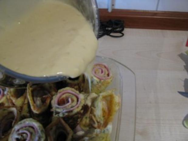Schinken-Käse-Crespelles - Rezept - Bild Nr. 12