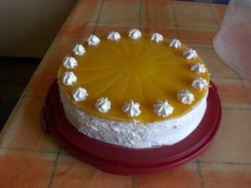 Pfirsich Aranca Torte - Rezept