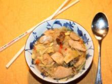Hühnersuppe deutsch-chinesich - Rezept