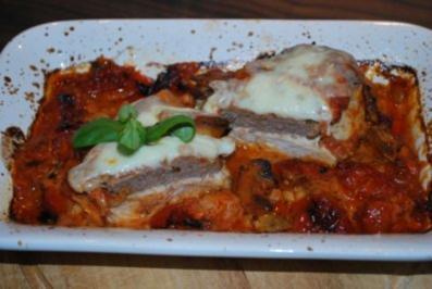 Hähnchenfilets a la bolognese - Rezept