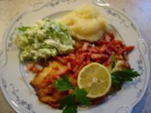 Tilapia-Filet mit Baconwürfeln... einfach, schnell und lecker - Rezept