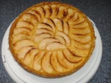 Apfel-Mohn-Kuchen mit Vanillecreme - Rezept