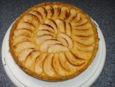 Apfel Mohn Kuchen Mit Vanillecreme Rezept Kochbar De