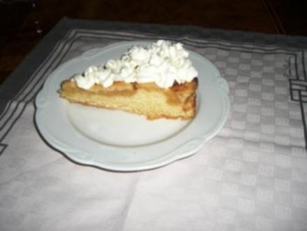 Apfelkuchen auf Hefeteig mit Streusel - Rezept