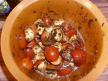 SALAT Tomate Mozzarella - Rezept