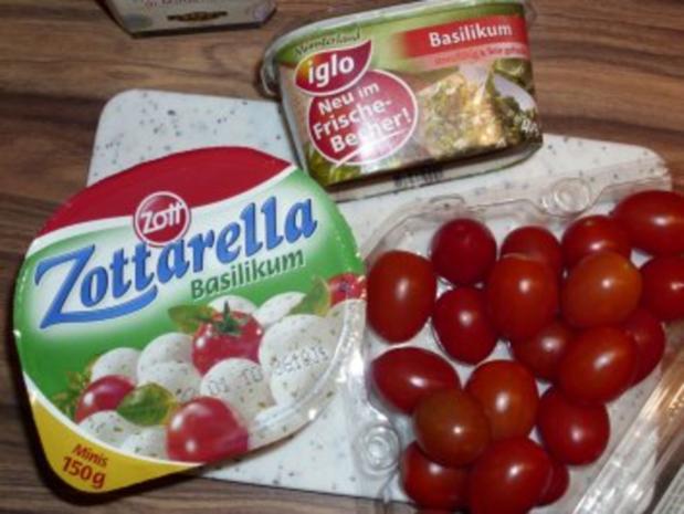 SALAT Tomate Mozzarella - Rezept - Bild Nr. 3