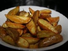 Kartoffelwedges oder Farmkartoffeln - Rezept