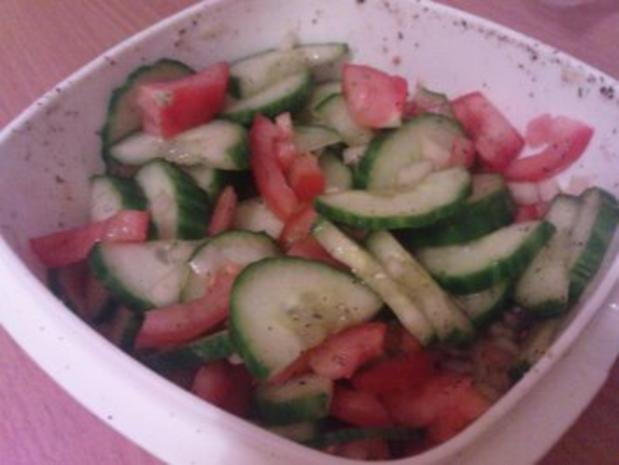 Tomaten-Gurken-Salat - Rezept