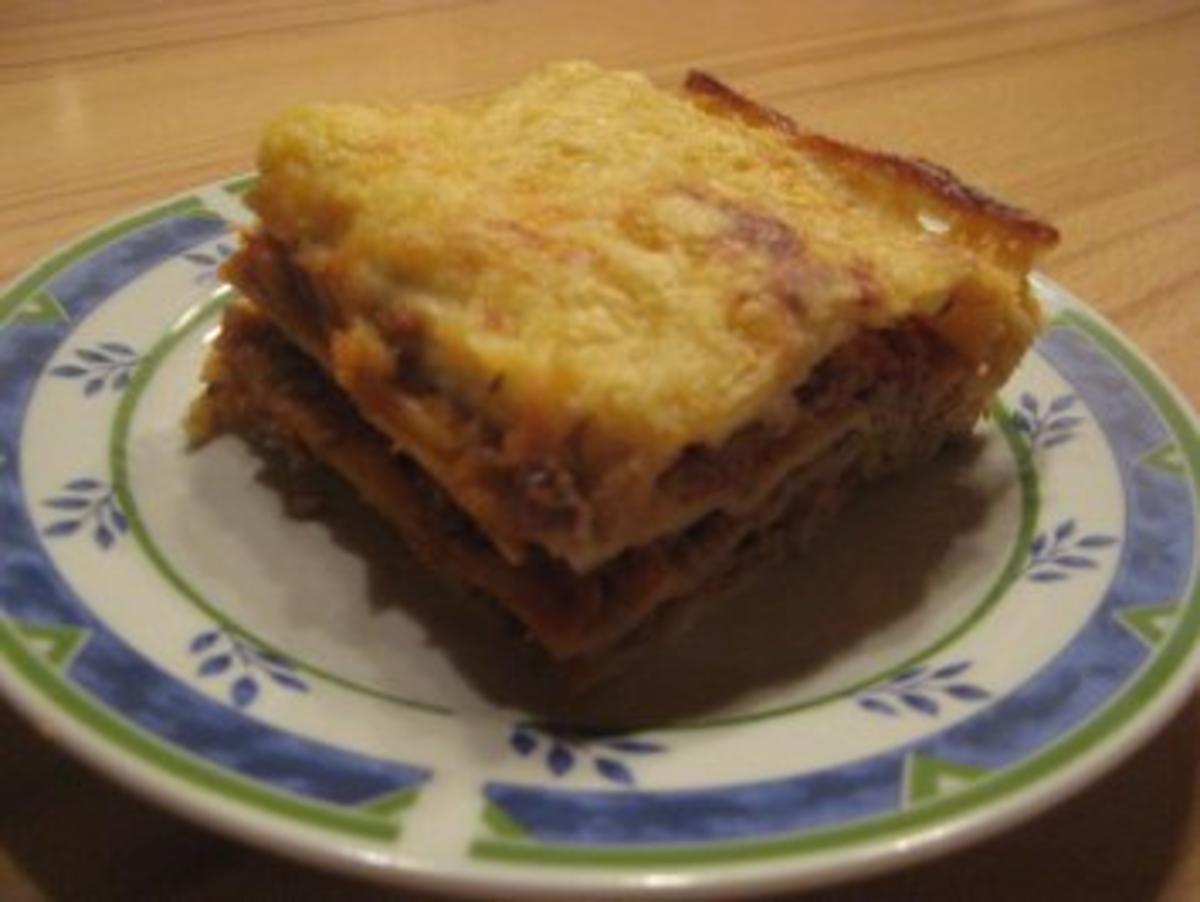 klassische lasagne al forno rezept mit bild. Black Bedroom Furniture Sets. Home Design Ideas