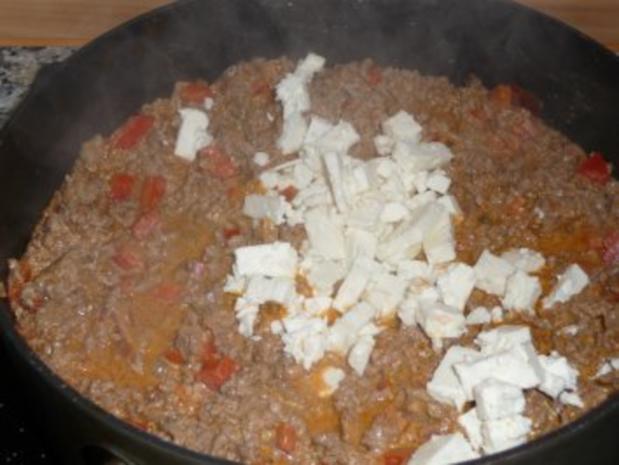 Hackfleisch - Schafskäse - Strudel - Rezept - Bild Nr. 10