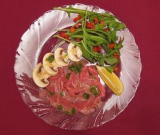 Kalbfleischsalat mit Zitronenmarinade - Rezept