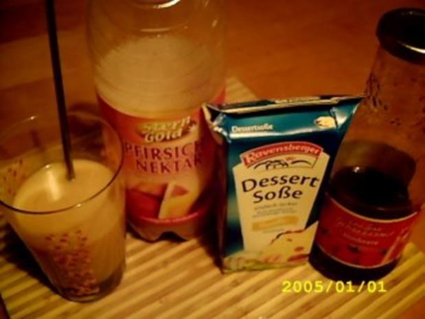 "Cocktail:""Pfirsich Melba Wölkchen"" - Rezept - Bild Nr. 2"