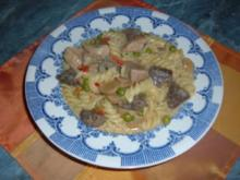 Fleisch : Gulasch-Topf-Schneerose - Rezept