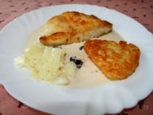 Zander in Salbei-Oliven-Soße - Rezept